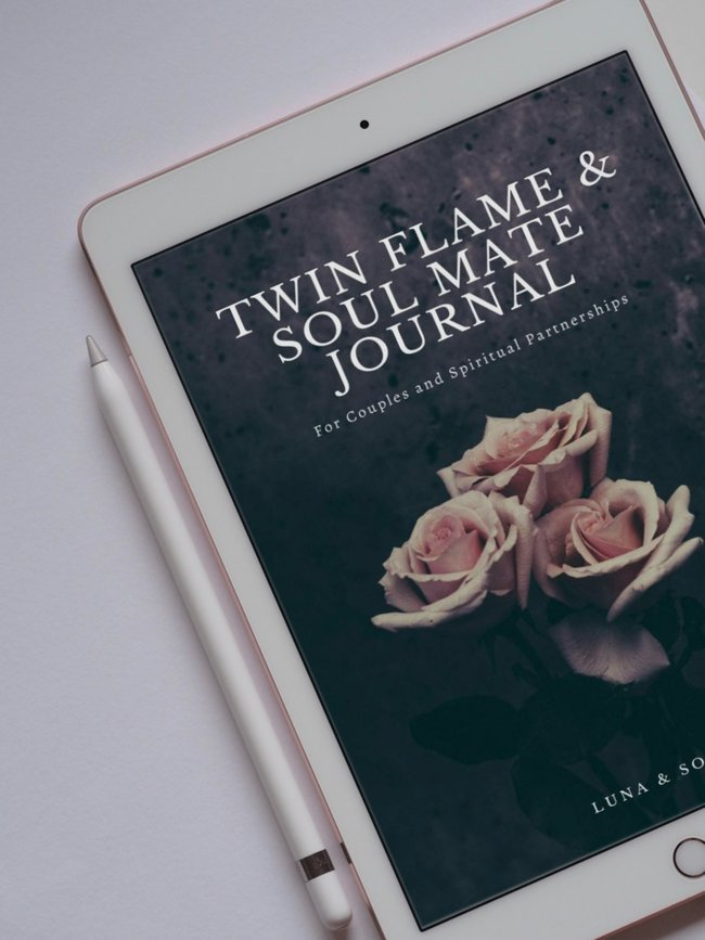 Twin flame journal image