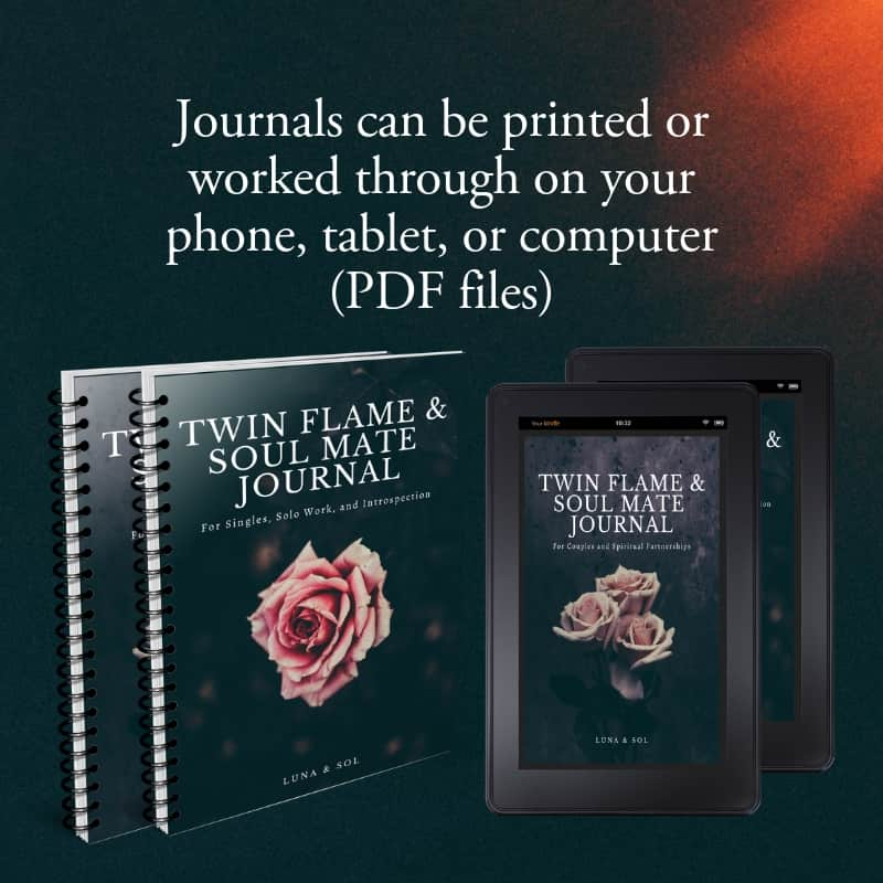Twin Flame & Soul Mates Journals Preview Image 1