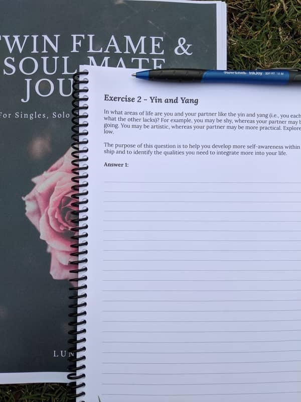 Twin Flame & Soul Mates Journals Preview Image 6