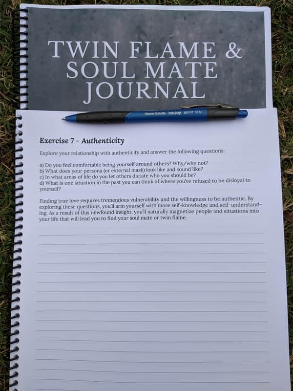 Twin Flame & Soul Mates Journals Preview Image 7
