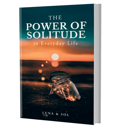 Power of Solitude book 3D image