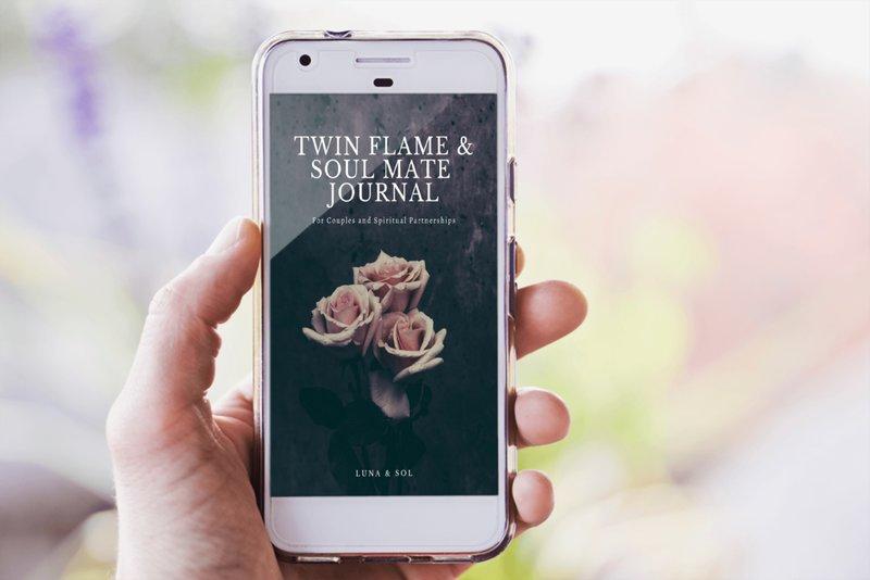 Twin flame journal image