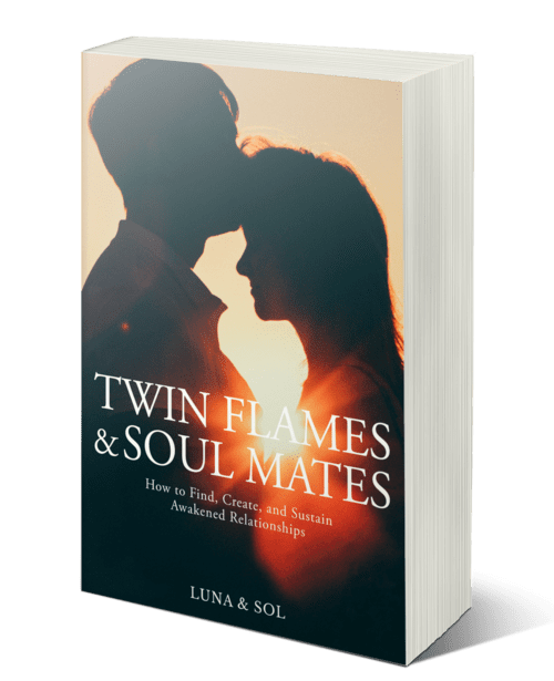 twin flames and soul mates book image