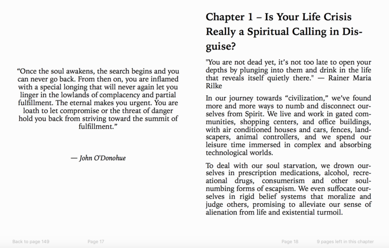 Spiritual Awakening Process eBook Preview 3