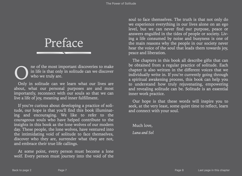 Power of Solitude eBook image preview