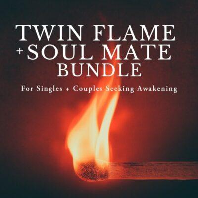 Twin flame and soul mate bundle image