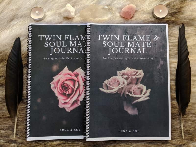 Twin Flame & Soul Mates Journals Preview Image 2