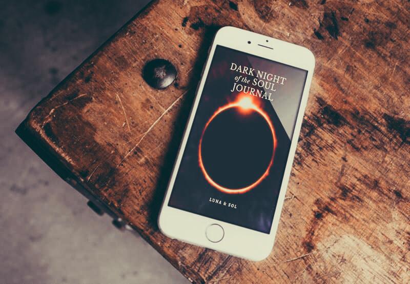 Phone Dark Night of the Soul Journal image